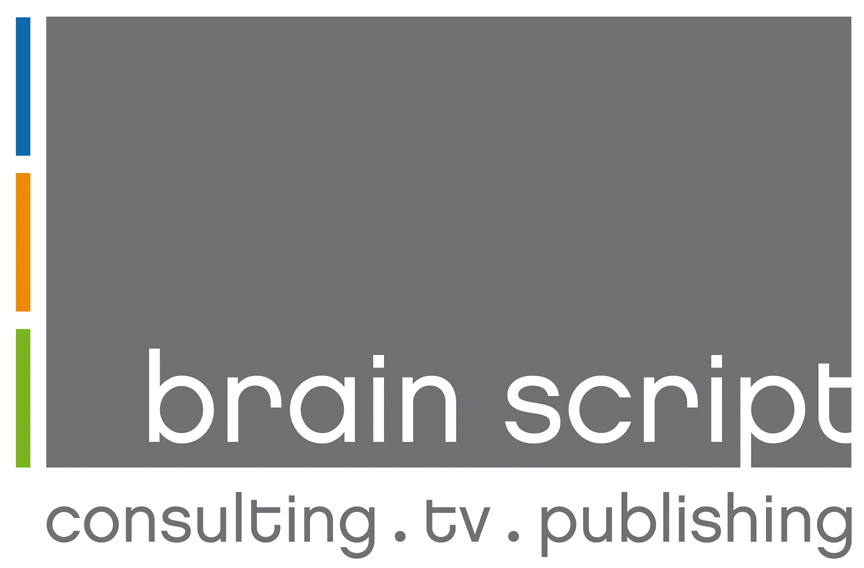 The Logo of brain script GmbH