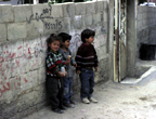 Palestinian kids (West Bank)