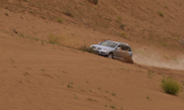 VW Volkswagen Touareg at the Oman desert